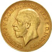 South Africa, George V, Sovereign, 1930, AU(55-58), Gold, KM:A22