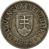 Slovaquie, Koruna, 1942, TTB, Copper-nickel, KM:6