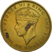 Jamaica, George VI, Penny, 1940, TTB, Nickel-brass, KM:32