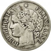 France, Cérès, 2 Francs, 1888, Paris, VF(30-35), Silver, KM:817.1