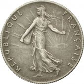 France, Semeuse, 50 Centimes, 1897, Paris, AU(50-53), Silver, KM:854