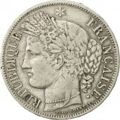 France, Cérès, 5 Francs, 1849, Paris, VF(30-35), Silver, KM:761.1, Gadoury:719