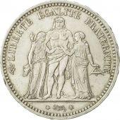 France, Hercule, 5 Francs, 1873, Paris, TTB, Argent, KM:820.1, Gadoury:745a