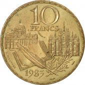 France, Stendhal, 10 Francs, 1983, SUP, Nickel-Bronze, KM:953, Gadoury:817