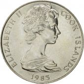 Îles Cook, Elizabeth II, Dollar, 1973, SUP, Copper-nickel, KM:7