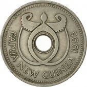 Papua New Guinea, Kina, 1995, TTB, Copper-nickel, KM:6