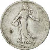 France, Semeuse, 2 Francs, 1901, Paris, VF(20-25), Silver, KM:845.1, Gadoury:532