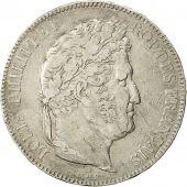 France, Louis-Philippe, 5 Francs, 1843, Bordeaux, TTB, Argent, KM:749.7,Gad 678
