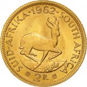 South Africa, 2 Rand, 1962, MS(63), Gold, KM:64