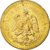 Coin, Mexico, 50 Pesos, 1946, Mexico City, MS(60-62), Gold, KM:481