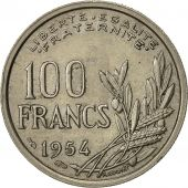 Monnaie, France, Cochet, 100 Francs, 1954, TTB+, Copper-nickel, KM:919.1