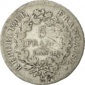 Coin, France, Union et Force, 5 Francs, 1801, Bordeaux, VF(20-25), Silver