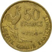 Coin, France, Guiraud, 50 Francs, 1950, Paris, EF(40-45), Aluminum-Bronze