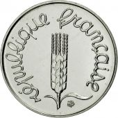 Coin, France, Épi, Centime, 1997, Paris, MS(65-70), Stainless Steel, KM:928