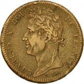 Coin, FRENCH COLONIES, Charles X, 10 Centimes, 1828, Paris, EF(40-45), Bronze