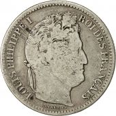 Coin, France, Louis-Philippe, 2 Francs, 1832, Paris, F(12-15), Silver, KM:743.1