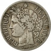 Coin, France, Cérès, 2 Francs, 1895, Paris, VF(30-35), Silver, KM:817.1