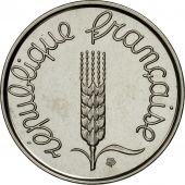 Coin, France, 2 Centimes, 1961, MS(63), Chrome-Steel, KM:E103.1, Gadoury:108