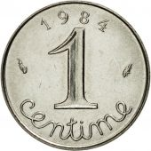 Coin, France, Épi, Centime, 1984, Paris, MS(63), Stainless Steel, KM:928