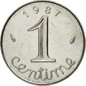 Coin, France, Épi, Centime, 1987, Paris, MS(63), Stainless Steel, KM:928