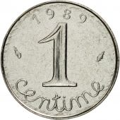 Coin, France, Épi, Centime, 1989, Paris, MS(63), Stainless Steel, KM:928