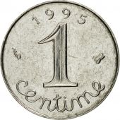 Coin, France, Épi, Centime, 1995, Paris, MS(63), Stainless Steel, KM:928