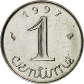 Coin, France, Épi, Centime, 1997, Paris, MS(63), Stainless Steel, KM:928