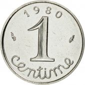 Coin, France, Épi, Centime, 1980, Paris, MS(63), Stainless Steel, KM:928