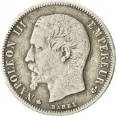 Coin, France, Napoleon III, 50 Centimes, 1859, Strasbourg, VF(30-35), KM 794.2