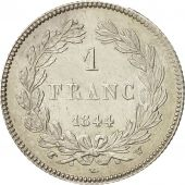 Coin, France, Louis-Philippe, Franc, 1844, Lille, AU(55-58), Silver, KM:748.13
