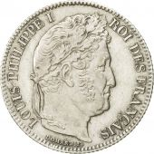 Coin, France, Louis-Philippe, Franc, 1834, Lille, AU(55-58), Silver, KM:748.13