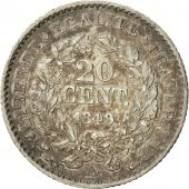 Coin, France, Cérès, 20 Centimes, 1849, Paris, AU(55-58), Silver, KM:758.1