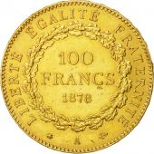 Coin, France, Génie, 100 Francs, 1878, Paris, AU(50-53), Gold, KM:832