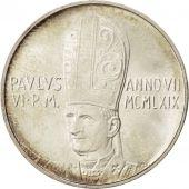 Vatican, Paul VI, 500 Lire 1969, KM 115