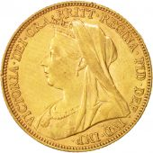 Australie, Victoria, Sovereign, 1898, Melbourne, Or, KM:13