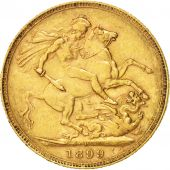 Australia, Victoria, Sovereign, 1899, Perth, Gold, KM:13
