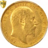 Australie, Edward VII, Sovereign, 1903, Sydney, PCGS, MS61, Or, KM:15