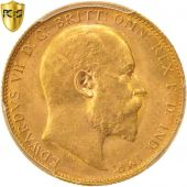 Australia, Edward VII, Sovereign, 1908, Perth, PCGS, MS63, Gold, KM:15