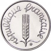 France, Épi, Centime, 1969, Paris, FDC, Stainless Steel, KM:928, Gadoury:91
