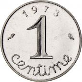 France, Épi, Centime, 1973, Paris, FDC, Stainless Steel, KM:928, Gadoury:91