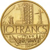 France, Mathieu, 10 Francs, 1977, Paris, FDC, Nickel-brass, KM:940, Gadoury:814