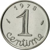 France, Épi, Centime, 1978, Paris, MS(65-70), Stainless Steel, KM:928