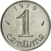 France, Épi, Centime, 1979, Paris, MS(65-70), Stainless Steel, KM:928