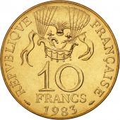 France, La conquête, 10 Francs, 1983, Paris, FDC, Nickel-Bronze, KM:952