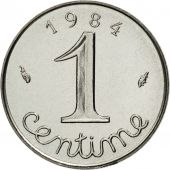 France, Épi, Centime, 1984, Paris, MS(65-70), Stainless Steel, KM:928