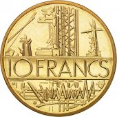 France, Mathieu, 10 Francs, 1985, Paris, FDC, Nickel-brass, KM:940, Gadoury:814