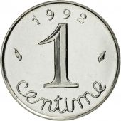 France, Épi, Centime, 1992, Paris, FDC, Stainless Steel, KM:928, Gadoury:91