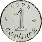 France, Épi, Centime, 1995, Paris, MS(65-70), Stainless Steel, KM:928