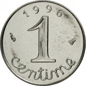 France, Épi, Centime, 1996, Paris, MS(65-70), Stainless Steel, KM:928