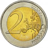 Greece, 2 Euro, 10 Jahre Euro, 2009, MS(63), Bi-Metallic